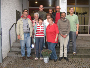 2008 Gruppe in den Anfängen
