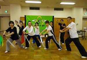 9月18日、楊式刀講習会