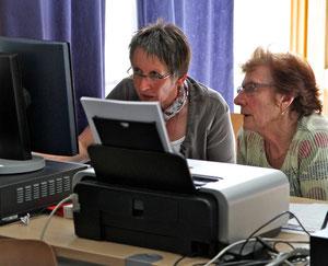 Frau Hild / Frau Metzler Foto: Angela Hammer