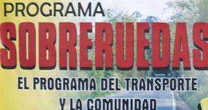 SOBRE RUEDAS SE EMITE DE LUNES A VIERNES DE 6 A 7 PM EN EL DIAL 91.3 FM O http://edenst-latebaida.colombiaemite.com/