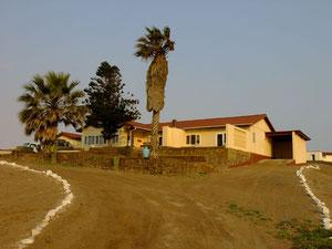 Nujomas Residenz - Wir schliefen hier