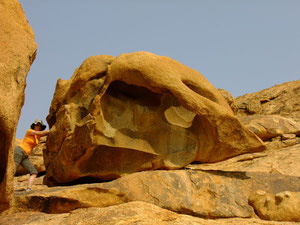Skurril wie vieles in Namibias Geologie