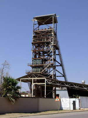 Förderturm Kupfergrube Tsumeb