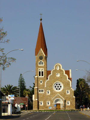Christuskirche in Windhoek - typisch deutsch