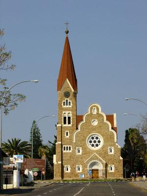 Christuskirche in Windhoek - typisch deutsch