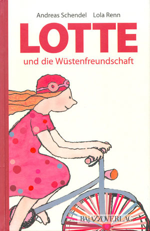 Lola Renn Illustration, Cover Kinderbuch, Bajazzo Verlag