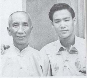 Yip MAN et Bruce LEE