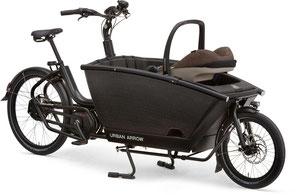 Urban Arrow Family Lasten e-Bike / Lastenfahrrad mit Elektromotor von Bosch