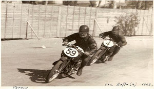 Varese - In lotta con Ruffo nel 1949