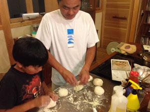 楽しいパン作り
