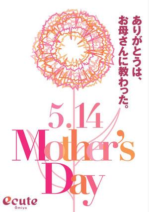 母の日キャンペーンポスター
