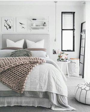 confection de dessus de lit