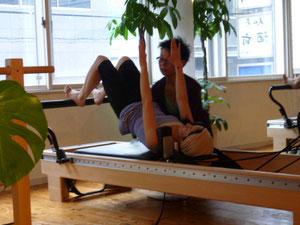 体幹とコアの安定の意識を高める