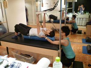 脊柱のニュートラルの意識と正しい肩甲骨の動き