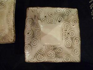 報星窯の角小鉢