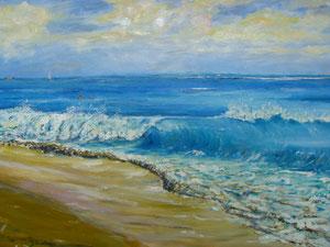 Surf, Wave, Ocean, Beach
