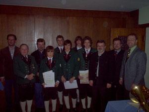Jahreshauptversammlung 17. Jänner 2006