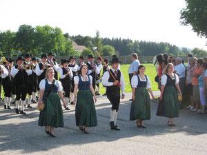 Marschwertung Aurach 2012