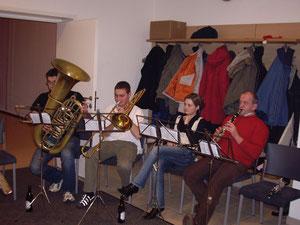 Erste offizielle Musikprobe 3. Februar 2007