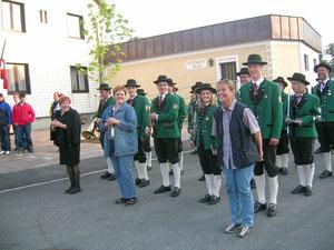 Meisterfeier Union Gampern 12. Juni 2005