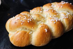 Hefeteig, gebacken