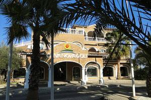 Clubhaus Oliva Nova Golf, Costa de Valencia, Spanien, 2012