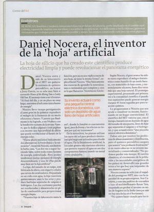 Daniel Nocera Crea Energía Limpia