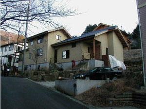 別荘地に建つ住宅
