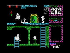 La versión para MSX, como fue costumbre durante esos años, era un clon de la de Spectum y no aprovechaba la superioridad técnica de los ordenadores del estandar nipón.