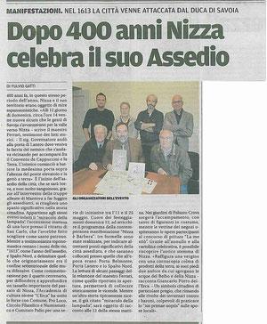 Articolo La Nuova Provincia 3-05-2013