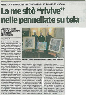 Articolo La Nuova Provincia 17-05-2013