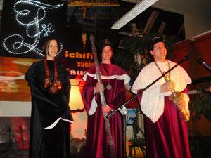 Abbildung 12: Der Vorstand der Berliner Latte eröffnete am Abend das traditionelle Ordensfest (Foto Dr. Hochhaus)