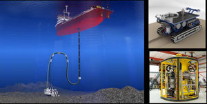 Abbildung 9: Mit dem Tiefseebergbau und innovativen Geräten werden zukünftige Rohstoffprobleme gelöst (Quelle Buchner)