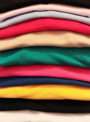 Verschiedene Textilien