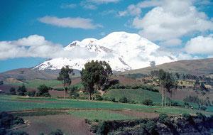 Untrennbar mit Alexander von Humboldts Namen verknüpft - der Chimborazo