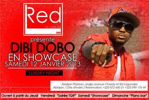 Red présente Dibi Dobo en Showcase samedi 12 janvier 2013