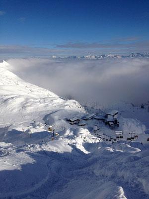 Kitzsteinhorn - Dezember 2012