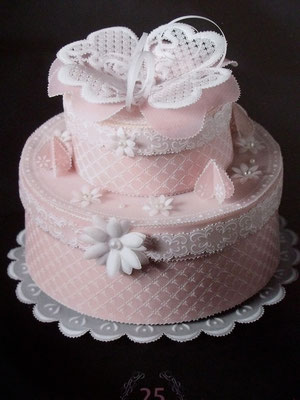 Anniversary Cake by Elisa Guidici