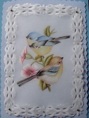 Two Birds by Hiskia Wittenaar