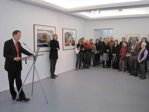Bezirksstadtrat Klaus-Dieter Gröhler, Kunstamtsleiterin Elke von der Lieth