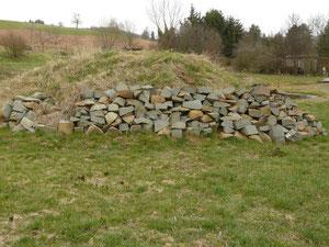 Steinschüttung