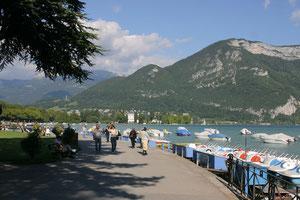 Am Lac d' Annecy