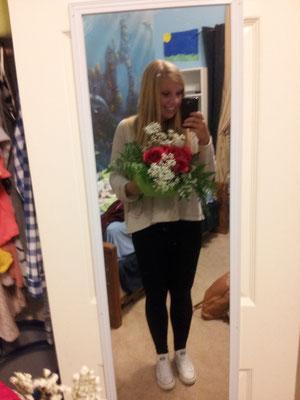 Hab am Ende Blumen von der Family bekommen :-)