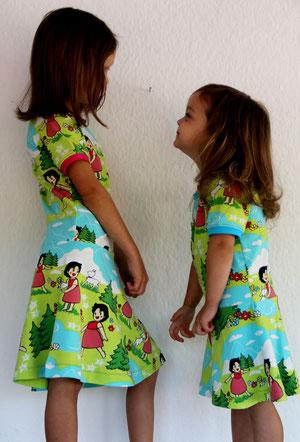 Lumpenprinzessin Kleid Heidi
