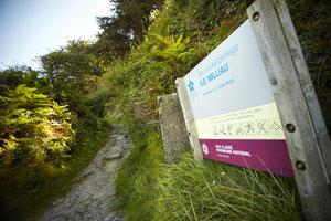 Chemin d'accès à l'île Milliau