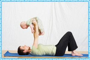 Зарядка с малышом