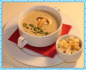 Суп с белыми грибами