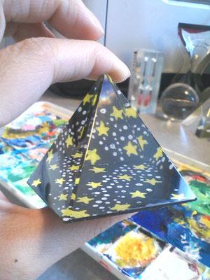 これは、星空ピラミッド。