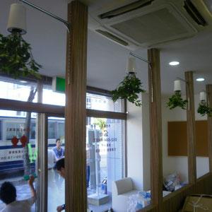 名古屋市カワハラ柔道接骨院さんの植栽工事