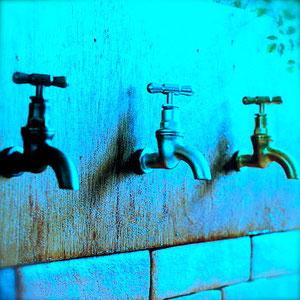 立水栓の蛇口のデザイン
